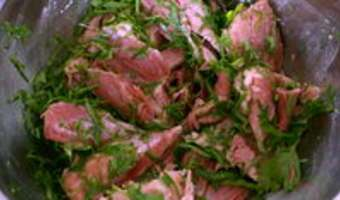 Terrine de jarret de porc aux herbes - Etape 6