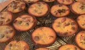 Petits moelleux au miel et fruits secs - Etape 11