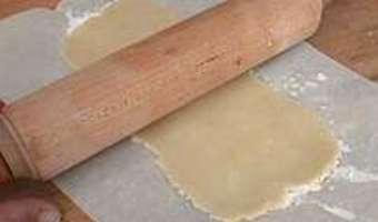 Parchemin en pâte d'amande - Etape 3