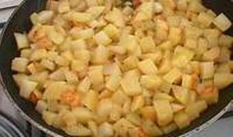 Pommes sautées à cru - Etape 9