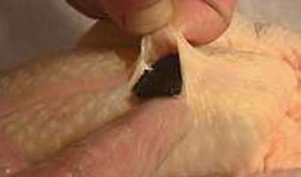 Poularde demi-deuil - Etape 4