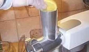 Poulet au citron confit et gingembre - La sauce - Etape 4