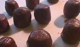 Rochers au chocolat praliné - Etape 2