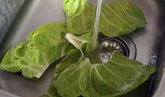 Ciseler les aromatiques et légumes feuilles - Etape 1