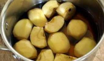 Gelée de pommes au cidre - Etape 2