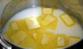 Pâte à choux et éclairs - Etape 1