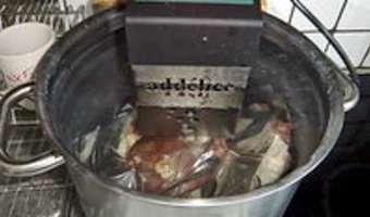 Parmentier de canard confit - Etape 2