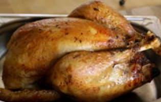 Chapon farci au foie gras : la cuisson - Etape 12