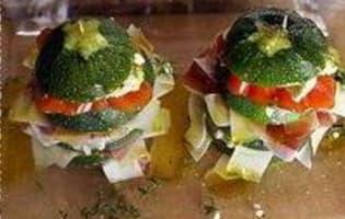 Hamburgers de courgettes - Etape 11