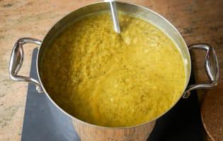 Crème de potiron maraîchère - Etape 12
