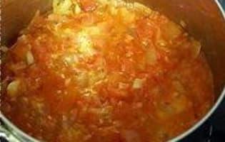 Flans de tomates - Etape 5