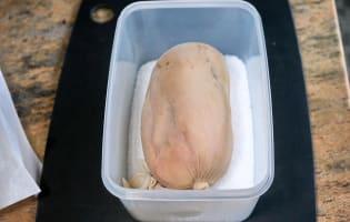 Foie gras au sel - Etape 5