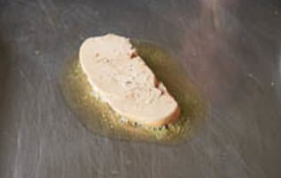 Foie gras à la plancha - Etape 4