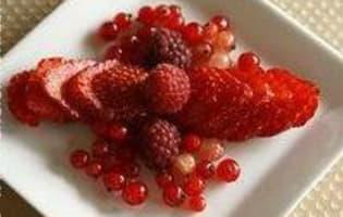 Gratin de fruits rouges - Etape 4