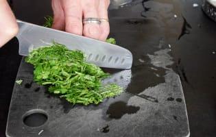 Tartare de thon aux saveurs asiatiques - Etape 6