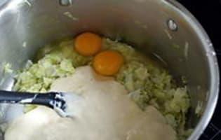 Tarte poireaux mimolette - Etape 6