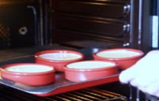 Caraméliser une crème brûlée - Etape 4