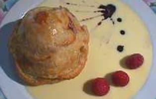 Douillon de poires à la gelée de cassis - Etape 9