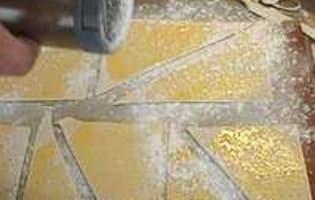 Feuilletés croustillants aux framboises - Etape 2