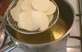 Frites et chips de patate douce - Etape 7