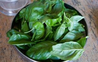 Pesto rouge et pesto vert - Etape 1