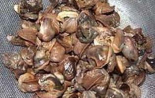 Piroguis aux escargots - Etape 1