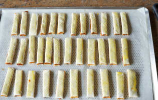 Allumettes aux anchois - Etape 13