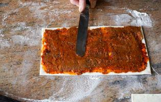 Allumettes aux anchois - Etape 7