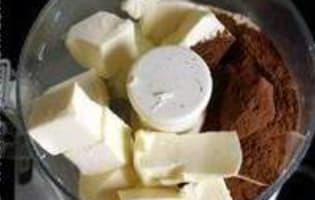 Feuilletage au chocolat : la détrempe - Etape 2