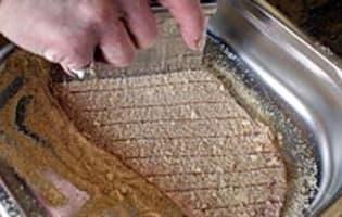 Escalope de veau panée à l'anglaise - Etape 9