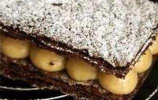Millefeuille craquant au chocolat - Etape 12