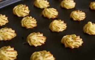 Pommes Duchesse - Etape 7
