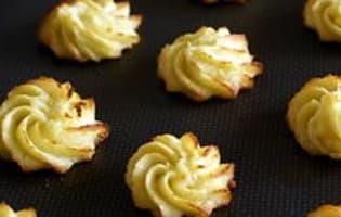 Pommes Duchesse - Etape 8