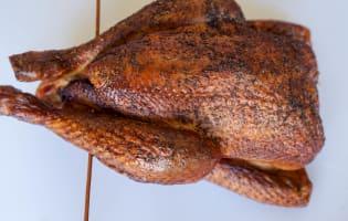 Le poulet fumé - Etape 10