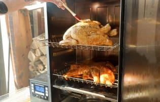 Le poulet fumé - Etape 8