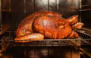 Le poulet fumé - Etape 9