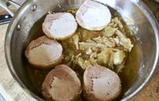 Rôti de porc cuit sous-vide à basse température - Etape 9