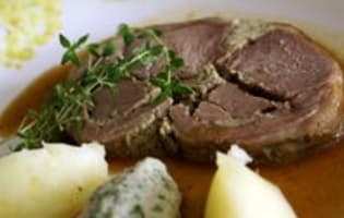 Selle d'agneau farcie - Etape 12