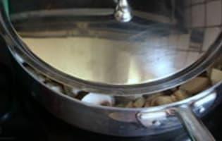 Velouté de champignons - Etape 3