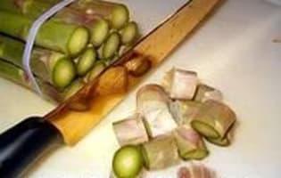 Crème d'asperges - Etape 1
