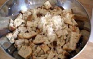 Beignets de pain au poivrons - Etape 3