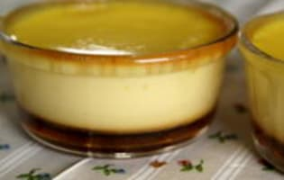 Crème renversée au caramel - Etape 12