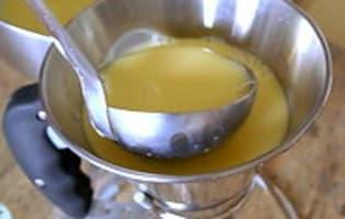 Crème renversée au caramel - Etape 9
