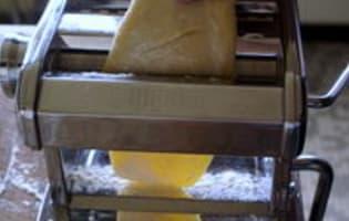 Pâtes fraîches - Etape 7