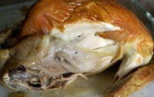 Poulet de Bresse rôti en papillote - Etape 10