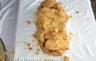 Ballotine de foie gras au chutney d'abricots - Etape 4