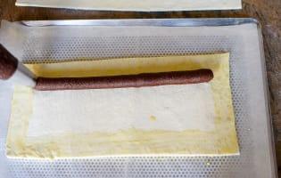 Galette des rois poire noisette et chocolat - Etape 6