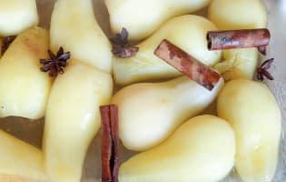Poires cuites sous vide - Etape 7