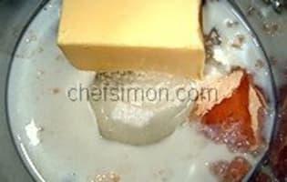 Tuiles craquantes au caramel fondant - Etape 2
