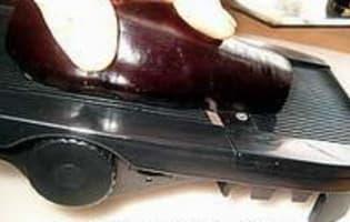 Tranches d'aubergines grillées - Etape 2